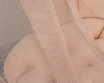 Pink Lace Point Sheers curtain Panels,Rod pocket curtains,Custom size,Custom made,Sheer,Linen Window Curtains,Made By order,Shabby Chic,Baby
