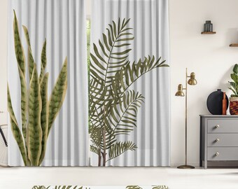 Tropical Series 4,Window Curtain 2 panels set,Blackout,Room darkering,Custom size,Termal insulited,Noise reducing
