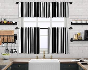 Multicolor Mexican Serape Stripe,Window Valance Treatments,Blackout,Sheer,Decorative,Valances Tiers Cafe Curtains,Custom Window Curtain