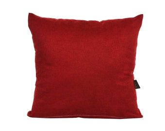 Solid Burgundy Pillow Cover,Luxury Sofa Cushion,Modern Sofa Cushion,Outdoor Pillow,Throw Cushions, solid color pillow cover