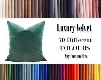 Light Green,Luxury Velvet Throw Pillow,70  Colours Velvet Pillow Cover, Decorative Velvet Pillow, Velvet Cushion Case, Velvet Pillows