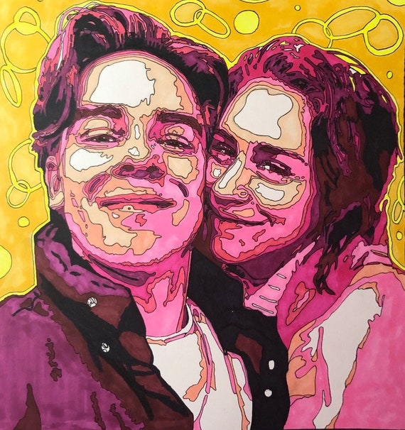 Cody Ko And Kelsey Kreppel Print Etsy She was born in 1990s, in millennials generation. cody ko and kelsey kreppel print