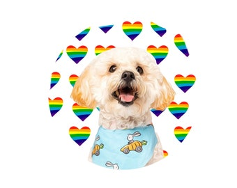 Rainbow collection,custom profile pictures, dog profile pictures, cat profile pictures