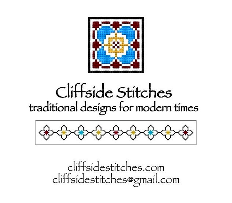 Portuguese Cross-StitchBackstitch Sampler