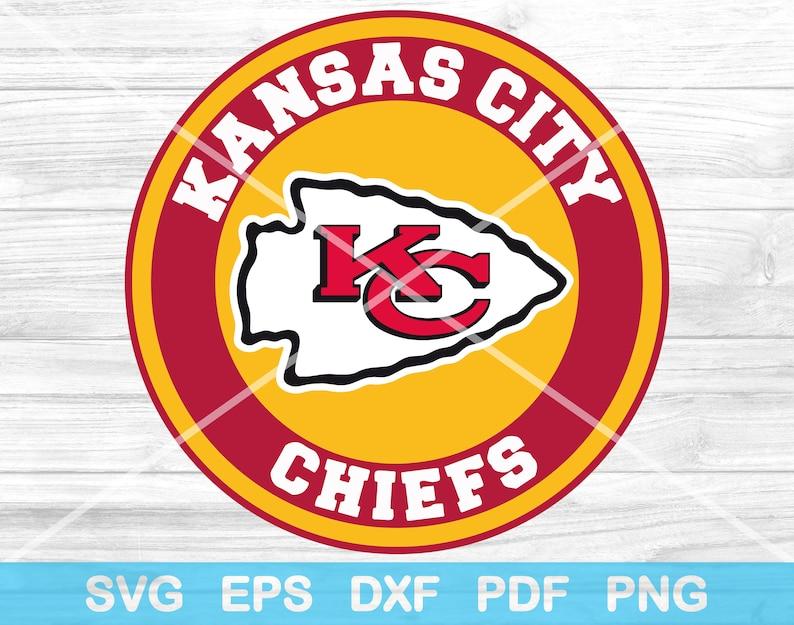 Download Kansas City Chiefs Football Logo 8 SVG Files Chiefs Svg | Etsy