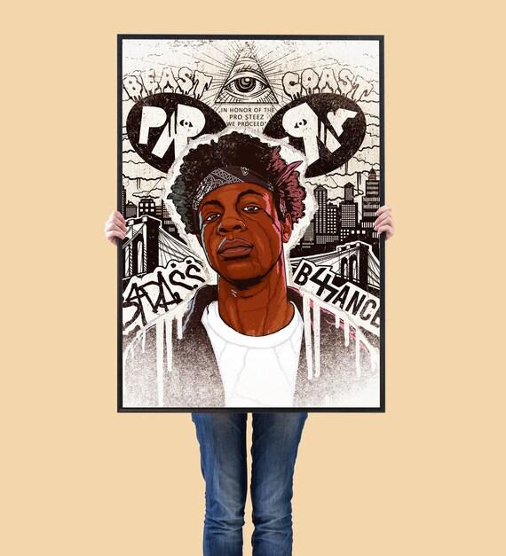 GORILLAZ Poster Wall Art Home Decor Rapper Poster