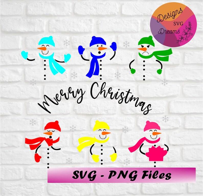 Download Snowman svg Bundle Snowman svg Merry Christmas svg | Etsy