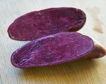 20 Purple Sweet Potato Slips - I Give You Roots not Vines! This will Jumpstarts your Growing - Cheapest Purples