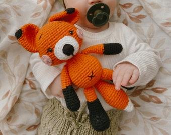 Fox Figurine Crochet Cuddly Toy /Amigurumi