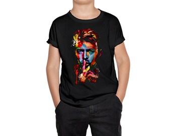 Bowie Punk Organic T-shirt for Kids