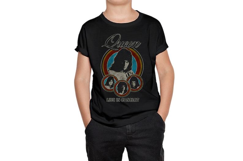 Toddler Tee Toddlers Tshirt Toddlers T-Shirt Kids Tee Kid Gift Kids Tshirt Queen and Freddie Mercury Rock Kids T-Shirt