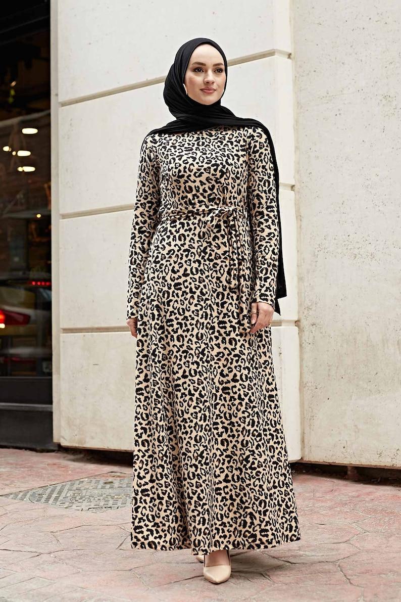 Muslim Dress Gift for Muslim Pattern Design Dress Long Dress islamic Wedding Modern Dress Turkish Dress Tesettur Muslim Clothes