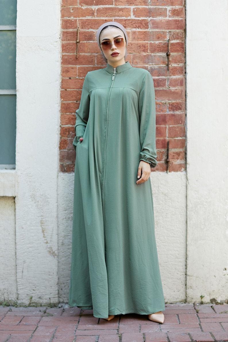 Turkish Abaya Muslim Clothes New Design Fashion Abaya Over Coat Modern Abaya islamic Wedding Hijab Dress Muslim Dress