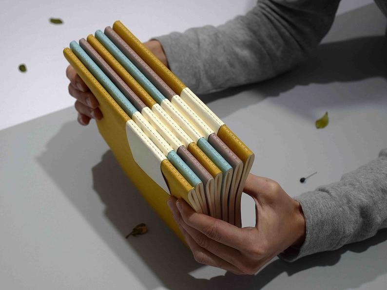 Notebook A5 calendar 2021-art print linocut-ivory paper | Etsy