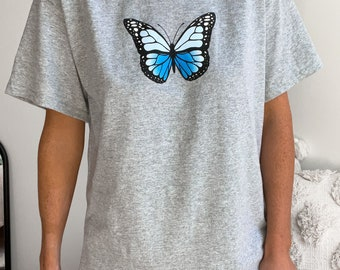 Butterfly Comfort Colors Brand tshirt Sunkissedcoconut™