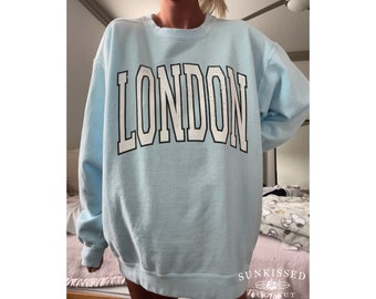London Comfort Colors Comfort Colors Brand Sweatshirt Sunkissedcoconut Trendy