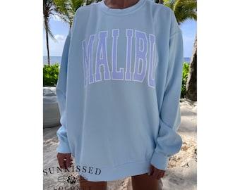 Malibu Comfort Colors Comfort Colors Brand Sweatshirt Sunkissedcoconut Trendy