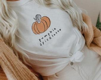 Pumpkin Spice Latte Tee Sunkissedcoconut™