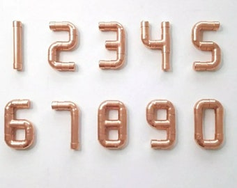 Unique House Numbers Etsy