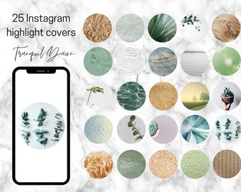 25 Tranquil Dawn Theme Instagram Highlight Covers   Tranquil Dream Collection
