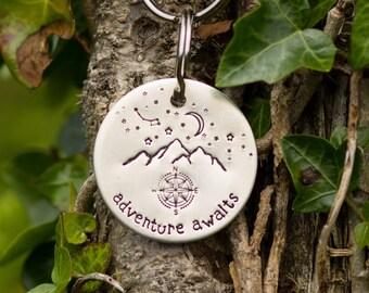 Adventure time keychain, backpack zipper pull