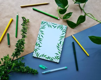 Notebook 'Palm' | A5 | Notepad | Stationery | To Do List | Notepad