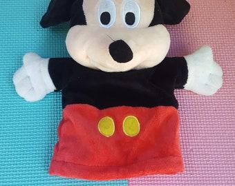"Walt Disneys Mickey Mouse 9"" Hand Puppet"