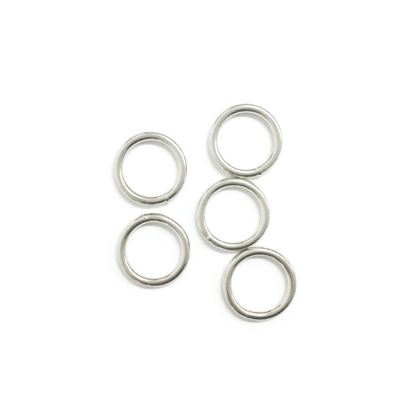 34 Die Cast Lite O Ring for Dog Slip Leash Handbags Pet Hardware -Sewing Hardware Belts Accessories 5 Pieces Purses Ready to Ship