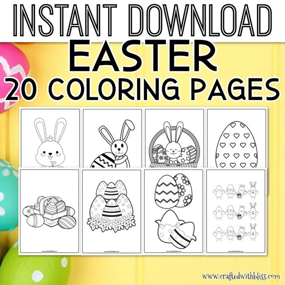 Easter Coloring Pages Easter Coloring Printable Coloring