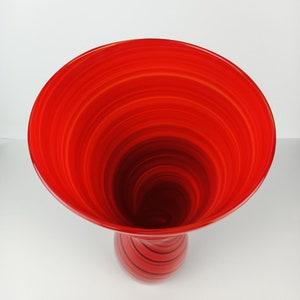 MCM Sarna Brass Vase Asymmetrical Hourglass Shape Mid Century Modern Housewares Made in India 1960\u2019s