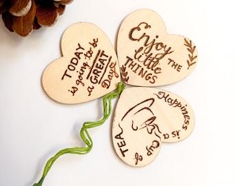 Fridge accesories Christmas Wooden Gift Pyrography Fridge  wooden pyrography magnets