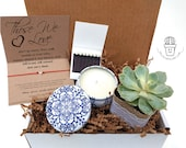 Sympathy Gift Box, Memorial Gift Box, Condolence Gift, Bereavement Gift Succulent Gift Box Loss Gift Grief Gift Fragrance Oil Heart Bracelet