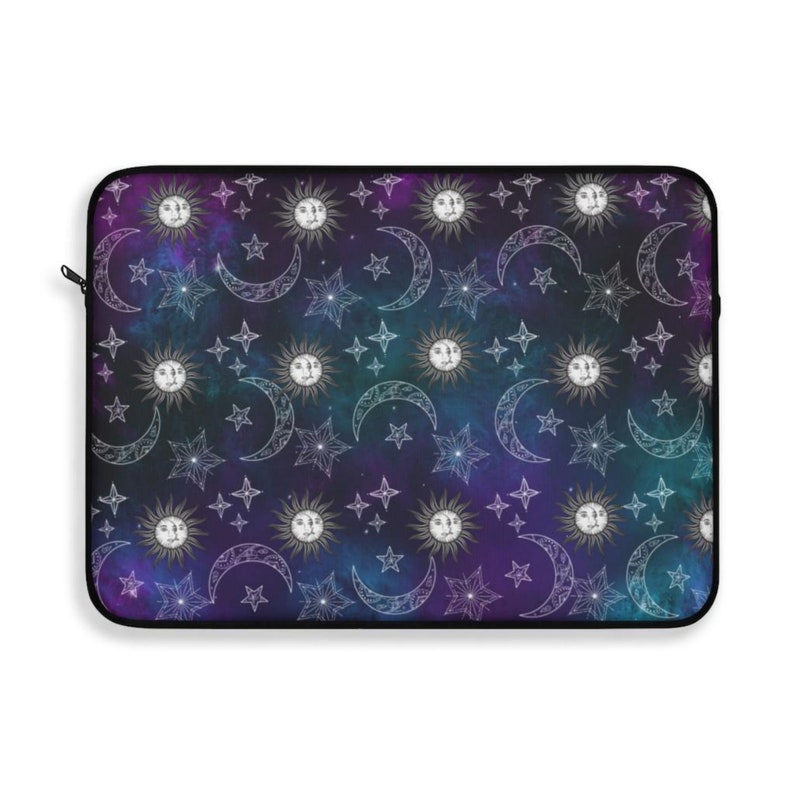 sun moon stars chromebook surface spiritual gifts laptop sleeve 12 inch 13 inch and 15 inch laptop cover and cases ipad macbook