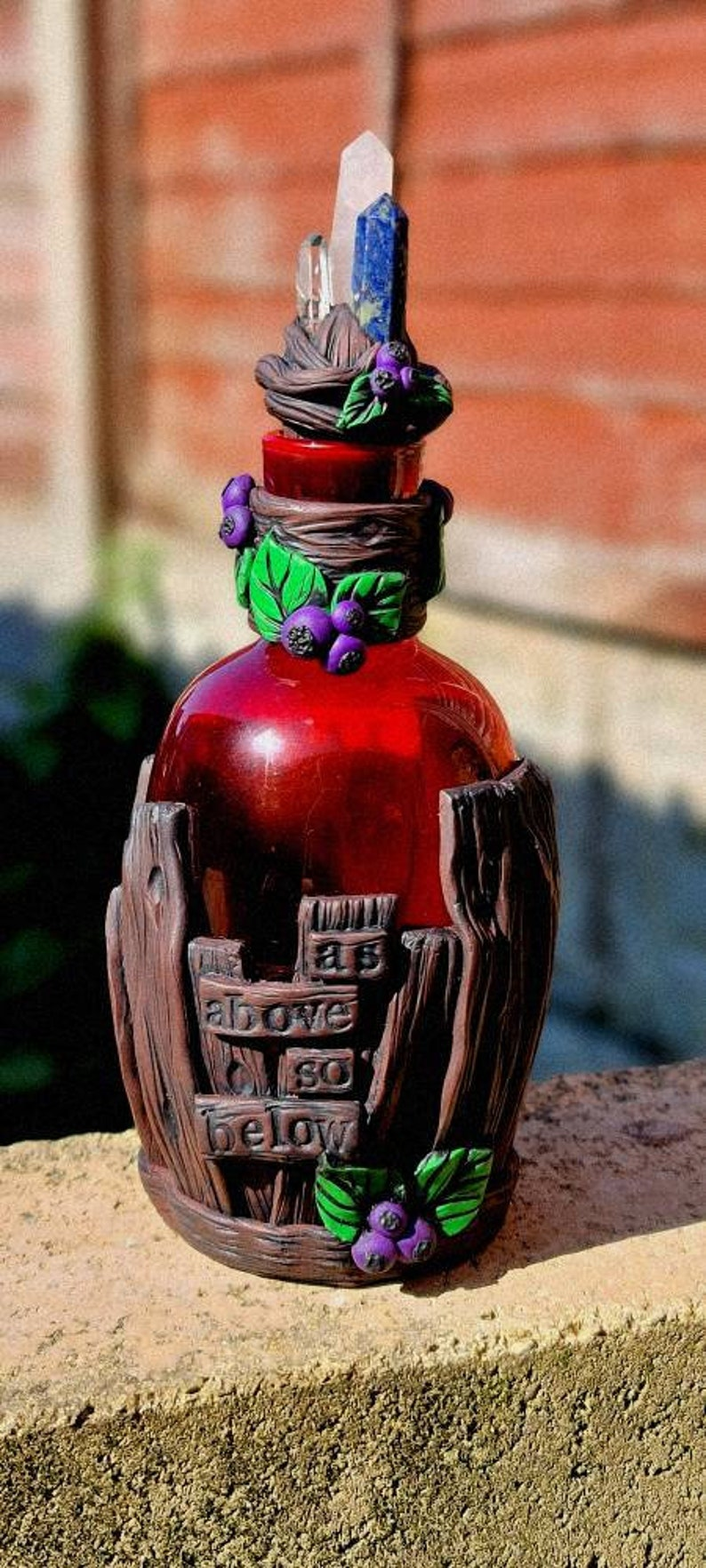 Wild berries potion bottle for your wild soul