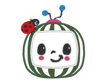 Cocomelon JOJO Cocomelon johnny Cocomelon Nursery Rhymes designs Cocomelon JJ Embroidery Design Nursery Rhymes Embroidery Designs