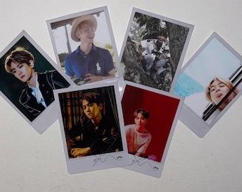 Custom Decorated Obsession Theme Polaroids Exo