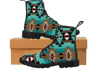 FLASH SALE Carved Vintage Boho Beige Leather Azteca Oaxacan Southwestern Slouch Western Inca Boots 8.59