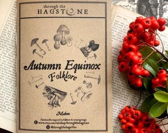 Autumn Equinox Folklore Zine