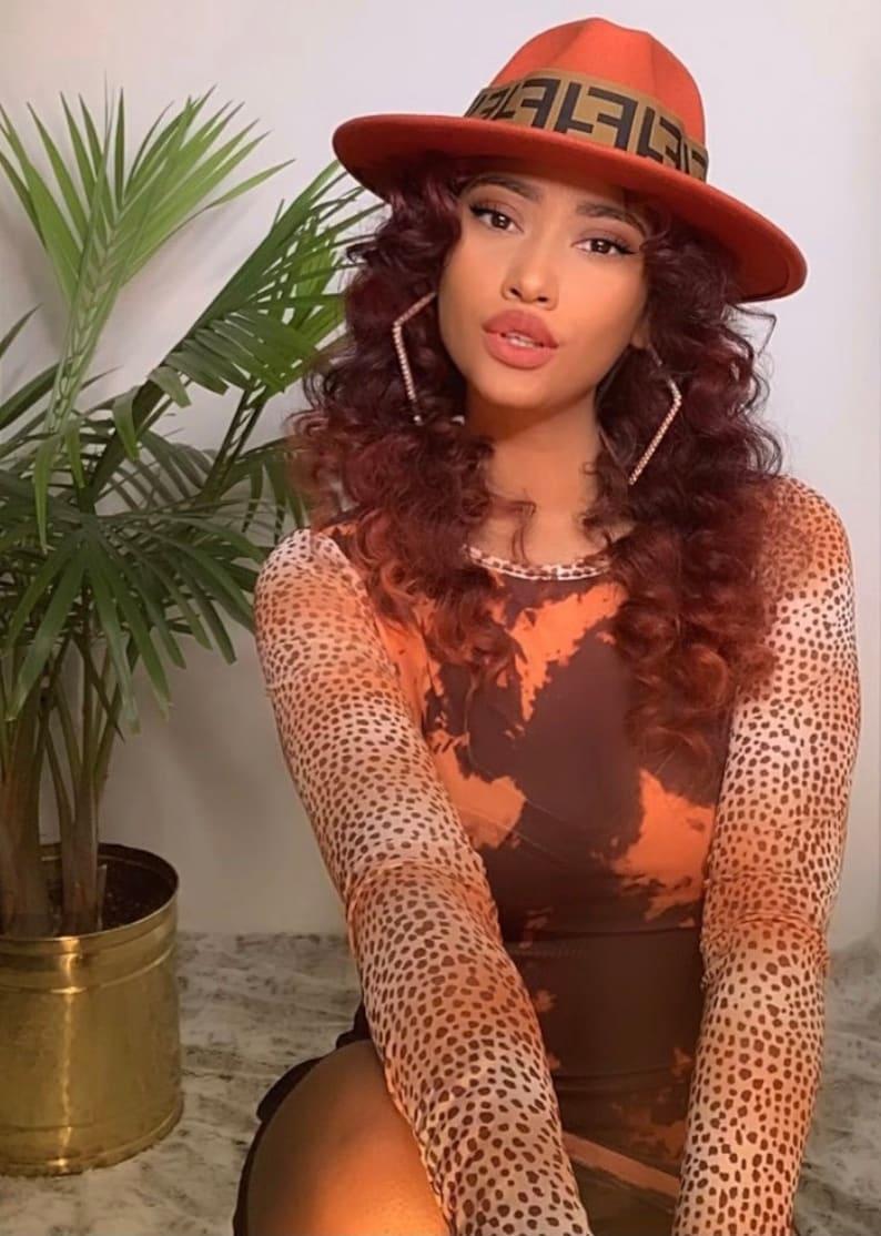 Designer fedora hat
