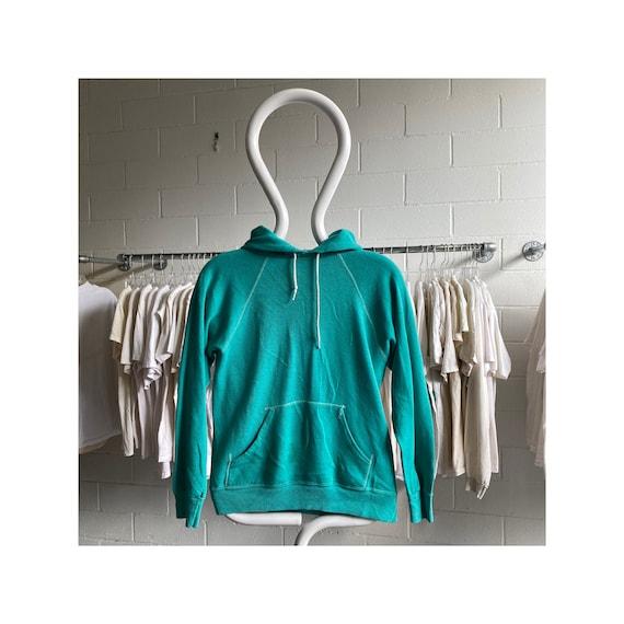 Vintage 70s/80s Sportswear Teal Hoodie