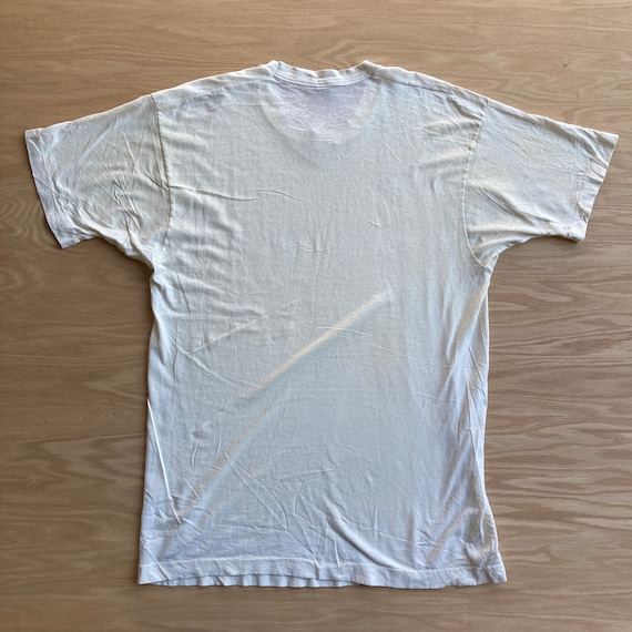 Vintage 90s Blank White T-Shirt - image 8