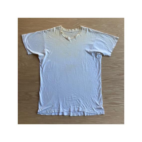 Vintage 90s Blank White FOTL T-Shirt - image 1