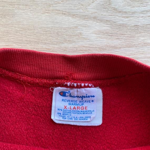 Vintage 80s Reverse Weave Champion Sweatshirt - image 3