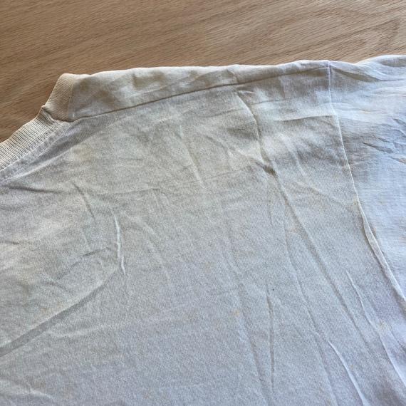 Vintage 90s Blank White FOTL T-Shirt - image 10