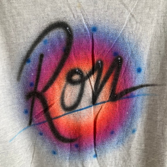 "Vintage 80s/90s Mr Thing ""Ron"" Airbrush T-Shirt - image 5"