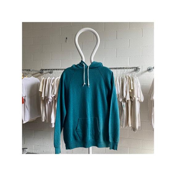 Vintage 70s/80s Blank Blue Hoodie