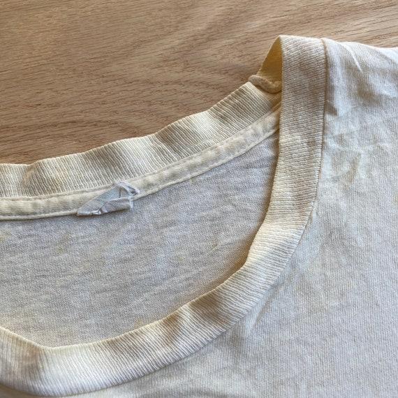 Vintage 90s Blank White FOTL T-Shirt - image 3