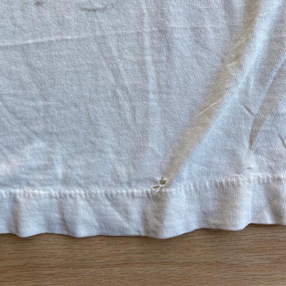 Vintage 90s Blank White T-Shirt - image 7