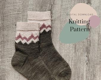 Mountain Mama Sock Pattern