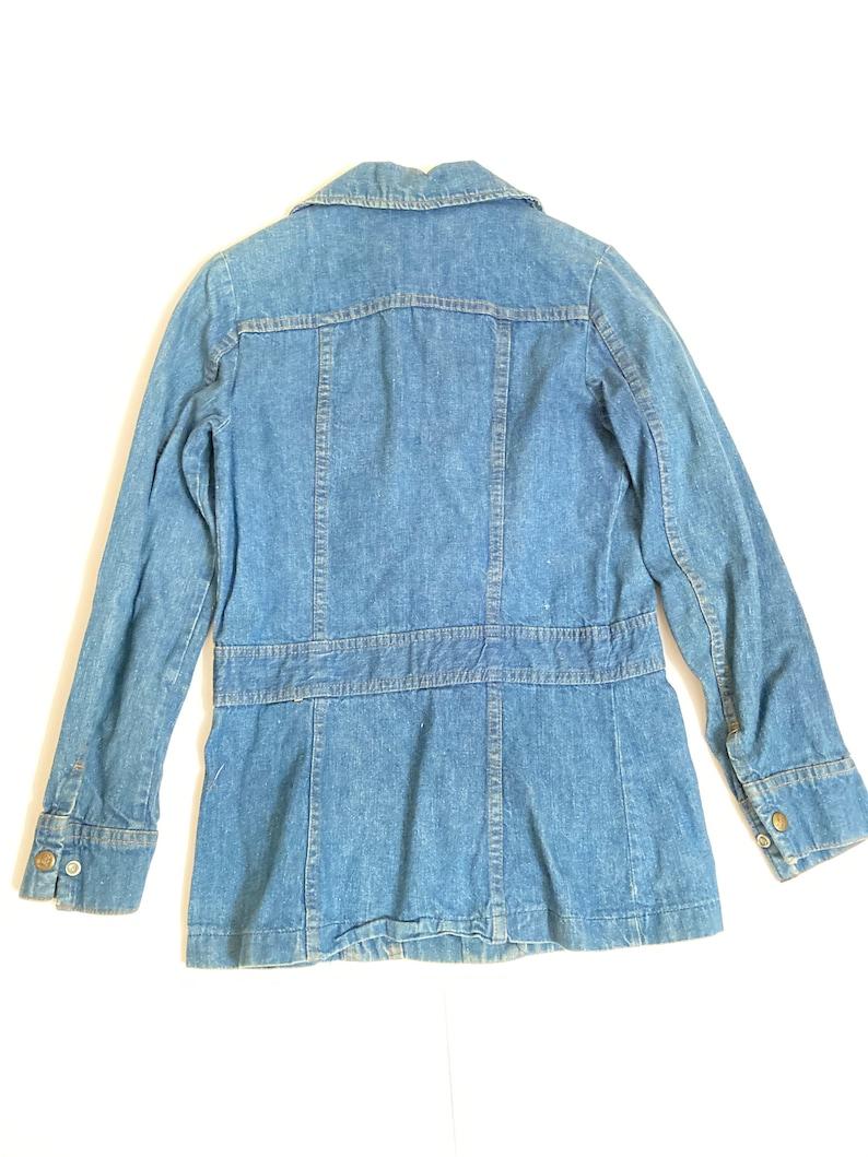 Vintage LEE DENIM jacket women\u2019s 67 size 1980\u2019s jean jacket